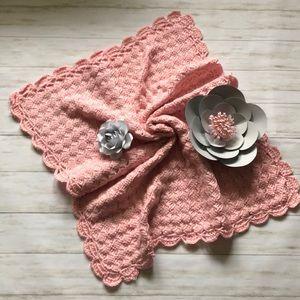 Crochet baby blanket NWOT